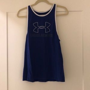 Under Armour royal blue tank top
